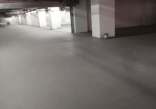 成都军区总医院地下室自流平地坪
