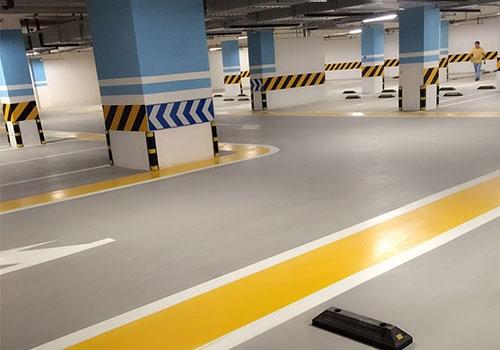 泸州停车场自流平水泥地坪施工