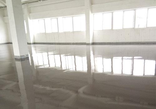 宝利根车间水泥自流平地坪