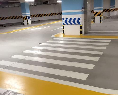 停车场地坪材料
